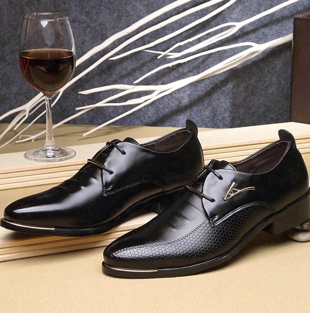 Черные туфли в мужском гардеробе