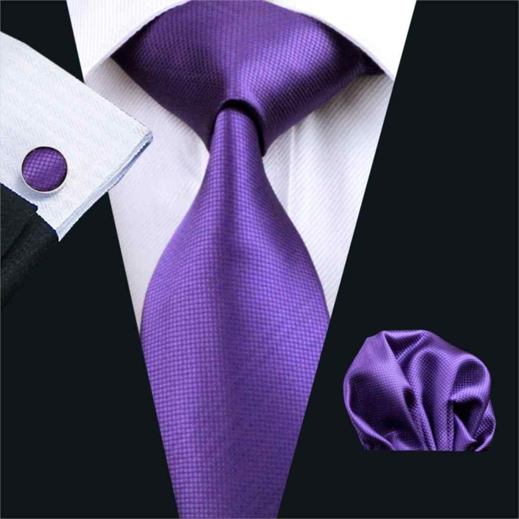 Фиолетовый галстук в мужском гардеробе