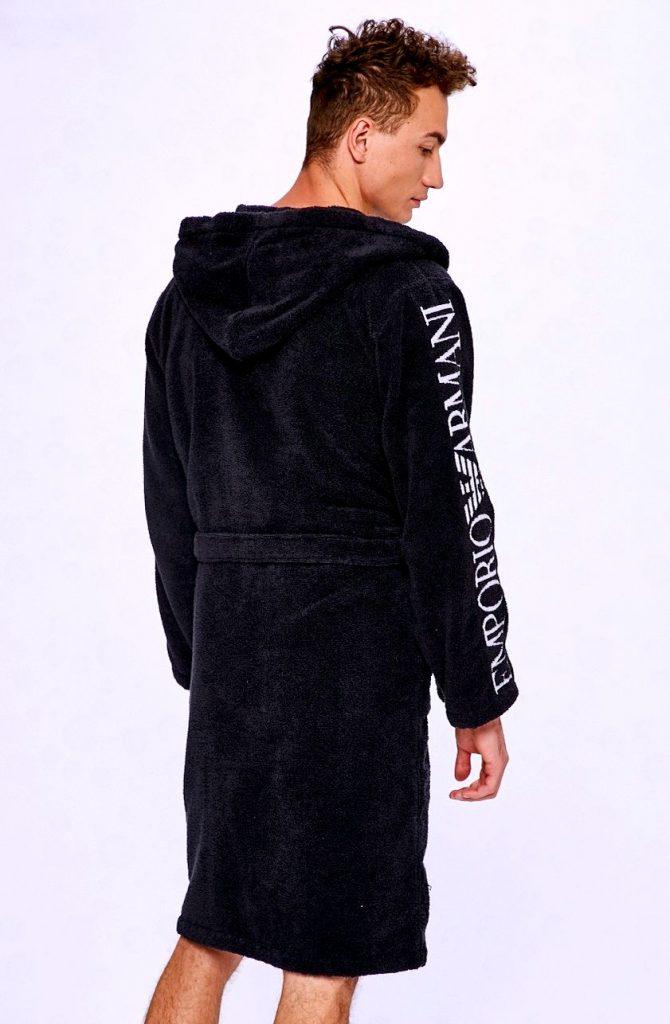 Стильный халат Армани