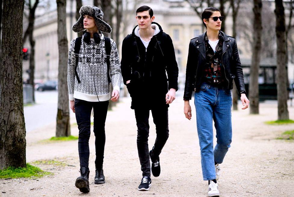 Примеры молодежного стиля