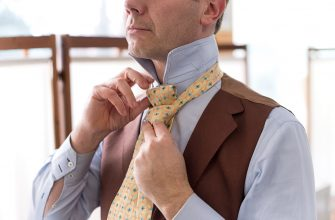 Как завязать узел на галстуке