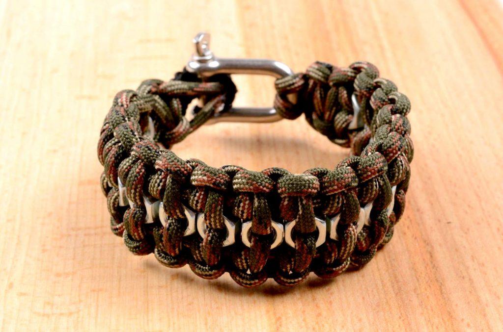 Кевларовый мужской браслет