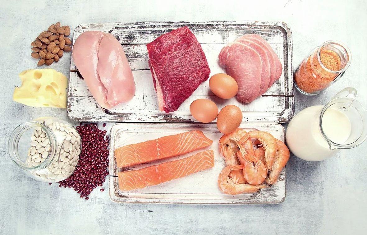 Потребление белков