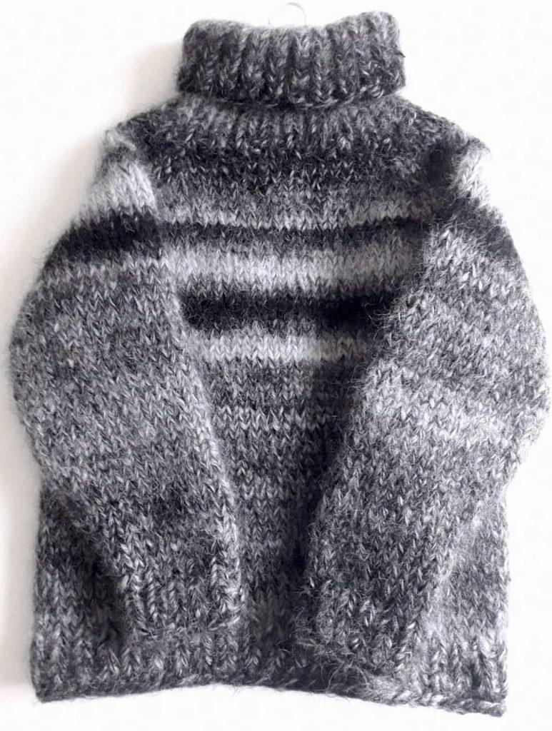мужской махеровый свитер