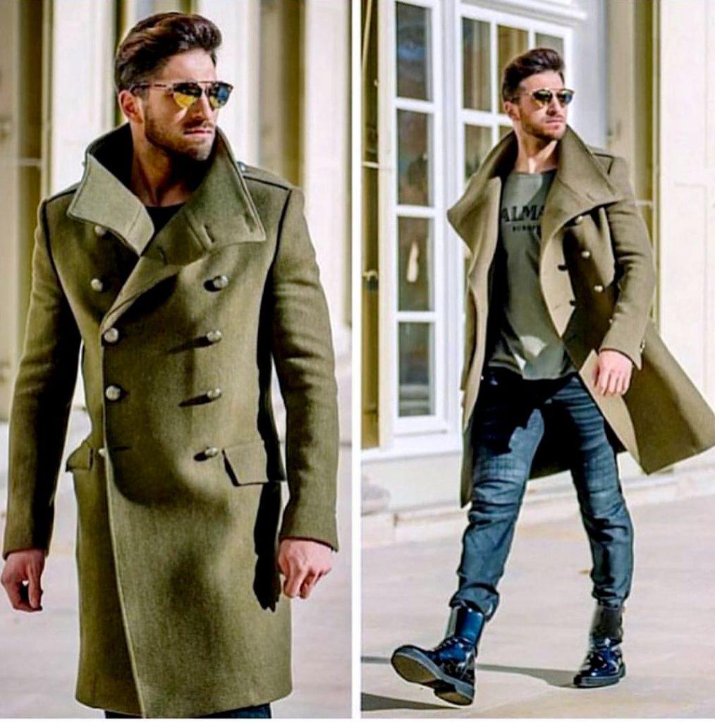 Выбор пальто милитари