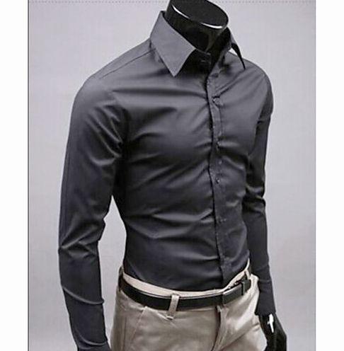 Рубашка с высоким воротником