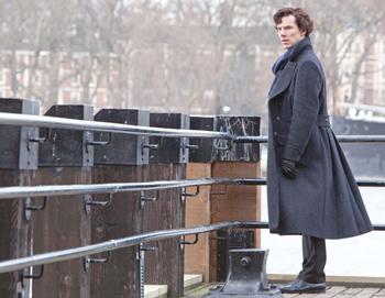 Пальто а-ля Шерлок
