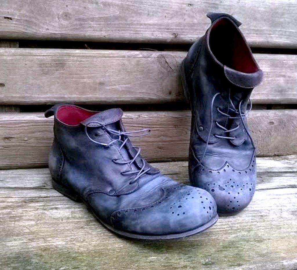 Состаренная обувь