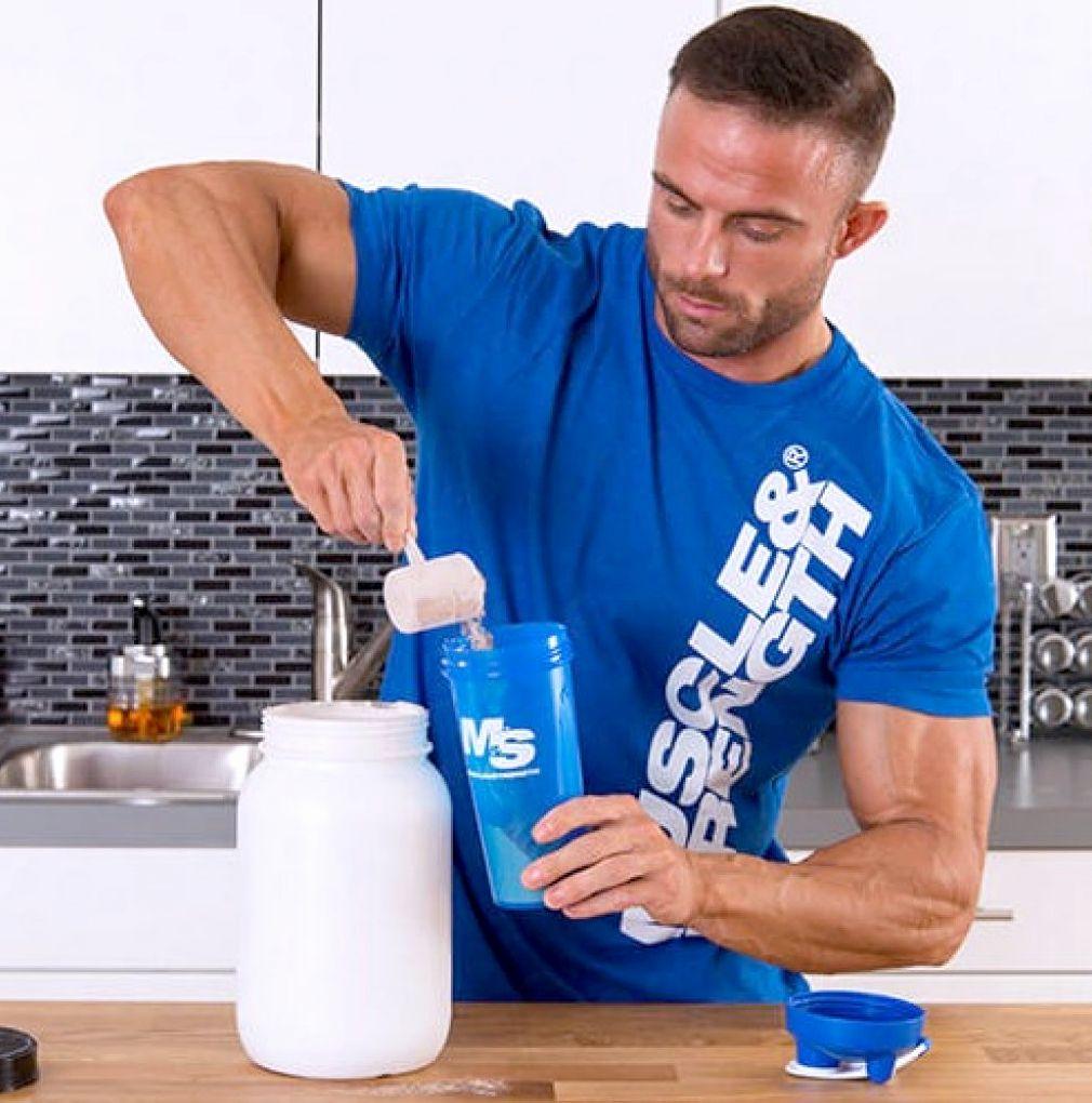 Приготовление протеина