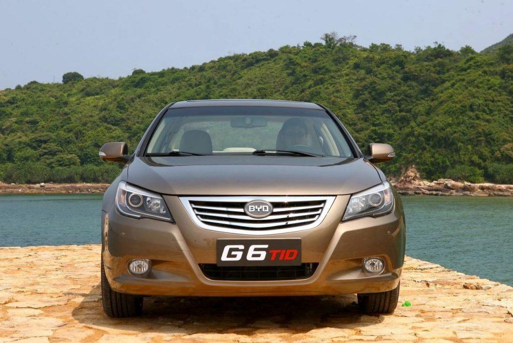 Эмблемы китайских машин Byd