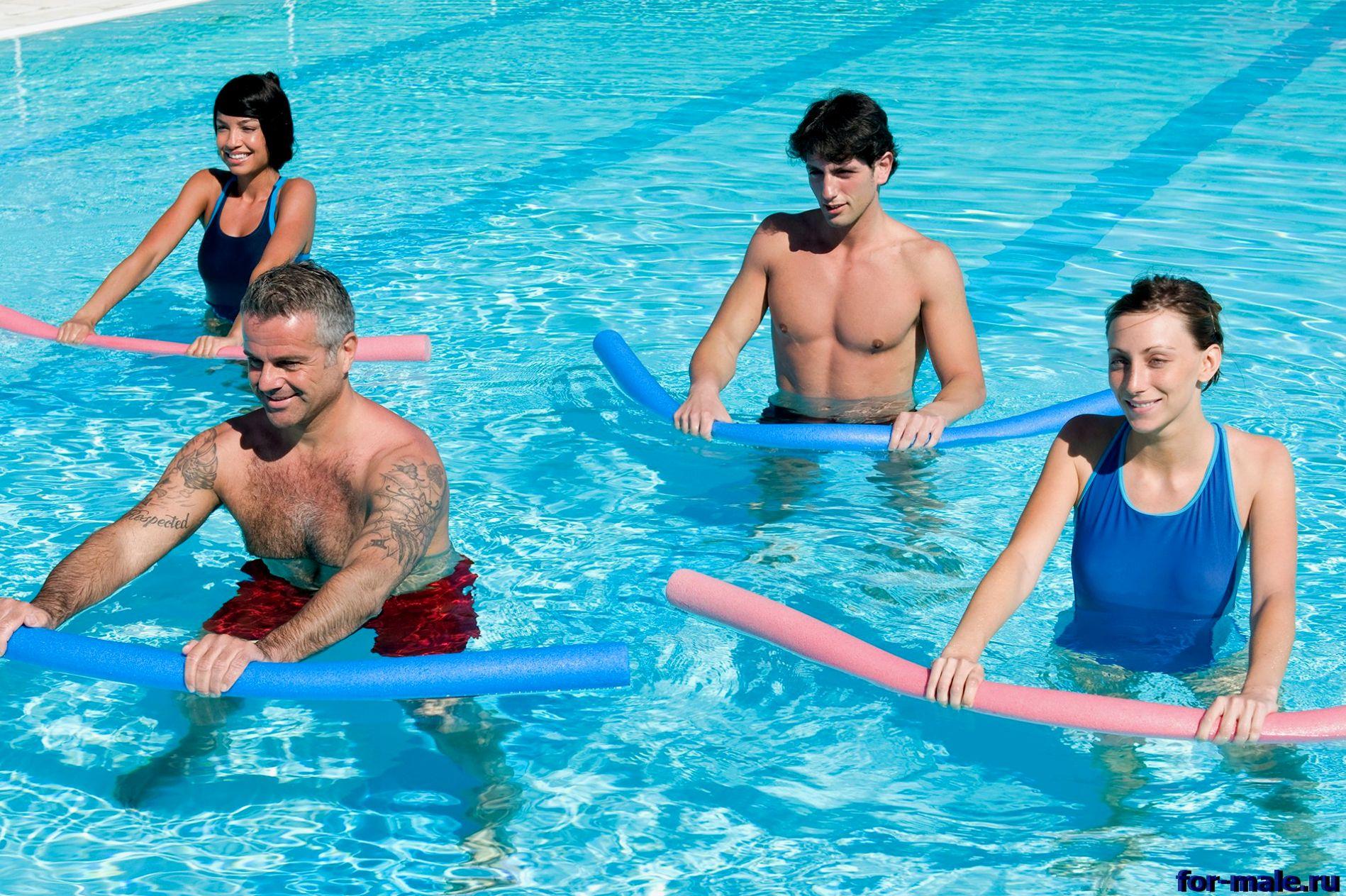 упражнения в воде для больных коленей