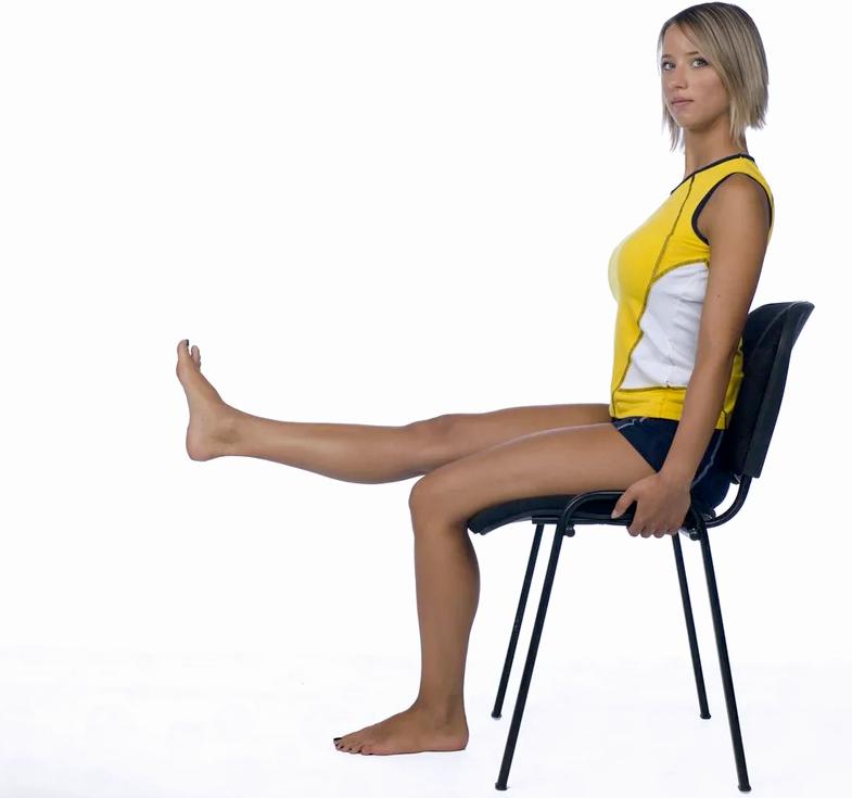 Упражнение для больных коленей