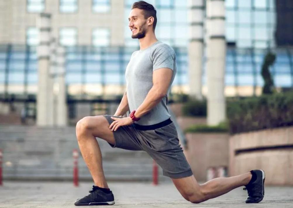 Выпады упражнение для больных коленей