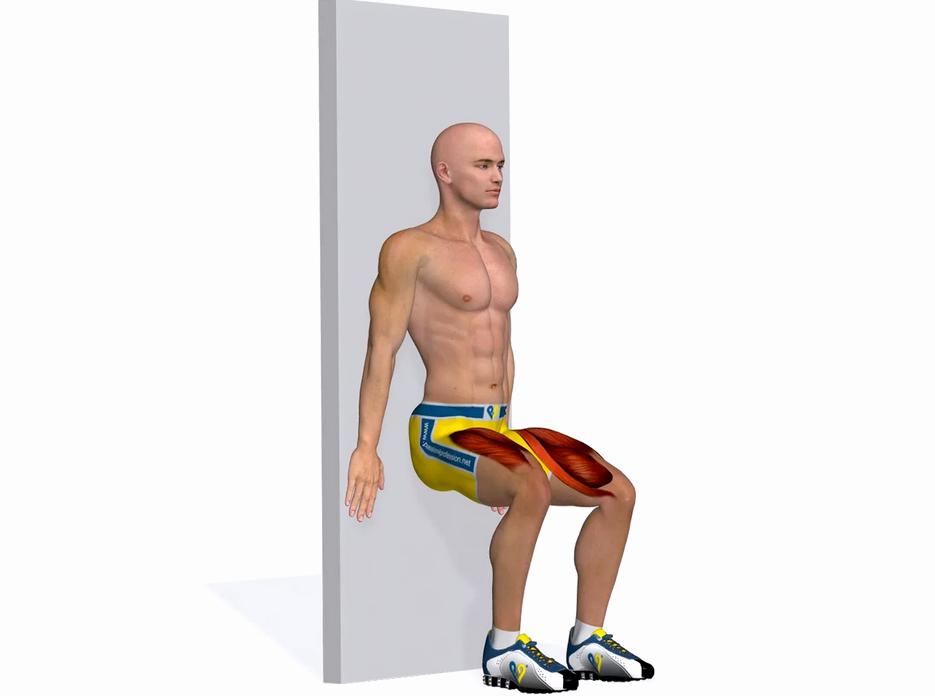приседания для больных коленей