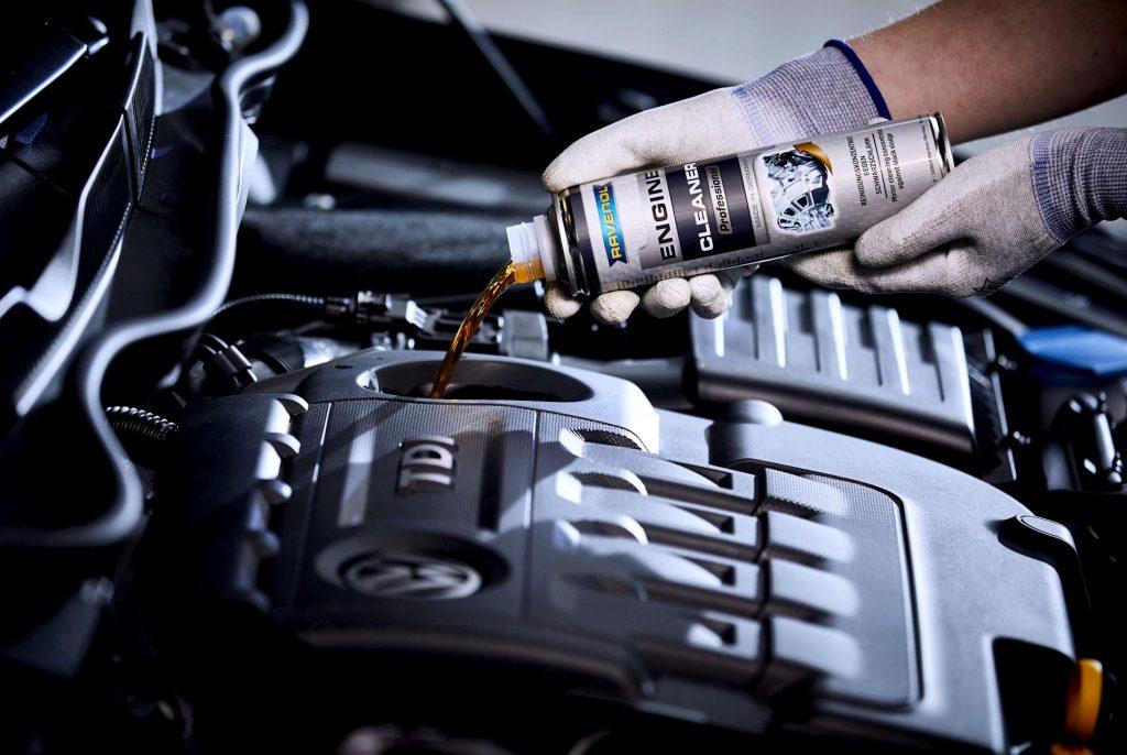 Быстрая промывка двигателя авто