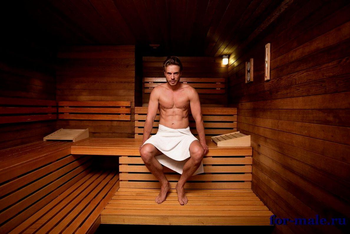 Убрать живот в бане