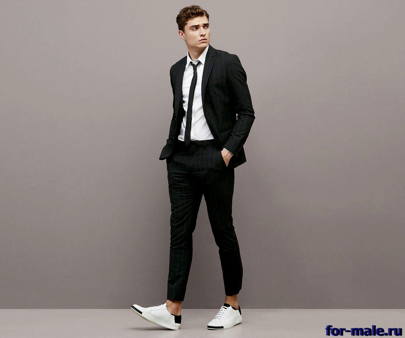 Как стильно одеваться худым мужчинам
