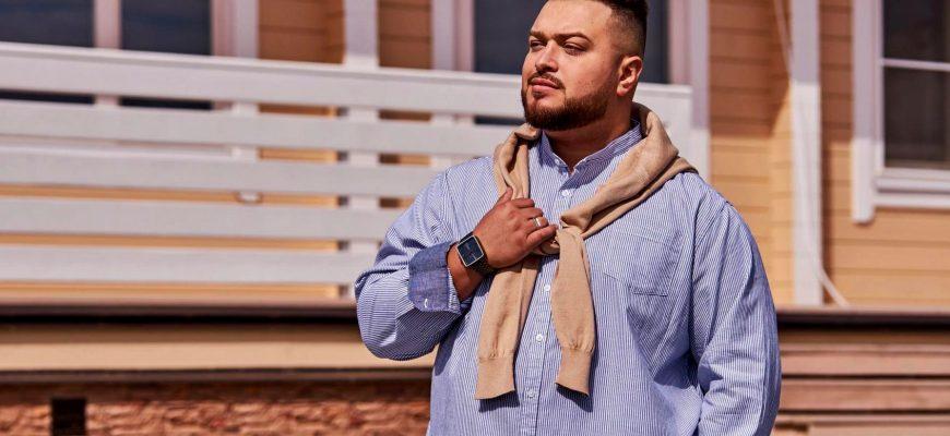Как стильно одеваться полному мужчине